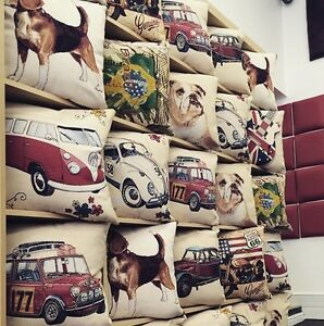 TOP QUALITY REMOVABLE CUSHION COVER IN RETRO,VINTAGE,TAPESTRY, RANGE (MUST BUY)