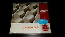 MATIA BAZAR - MESSAGGIO D'AMORE - CD SINGLE