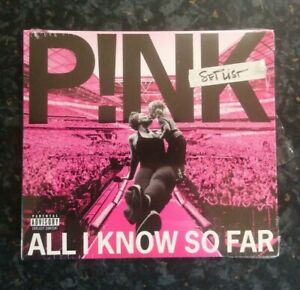 P!nk - All I Know So Far: SETLIST ** BRAND NEW /FACTORY SEALED **