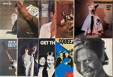 Lot Of 10 Classic Rock 80's Vinyl Record LP Albums THE KINKS PRETENDERS
