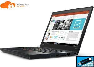 "Lenovo ThinkPad X270 12.5"" Laptop Intel i5-6300U 8GB RAM 128GB SSD Win 10 Pro"