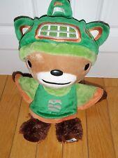 "Vancouver 2010 Olympic SUMI Plush  Animal Mascot Animal Guardian Spirit  11"""