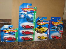 Hot Wheels Nice Lot of 6 Enzo Ferrari Variation Treasure Hunt 2004 First Edition