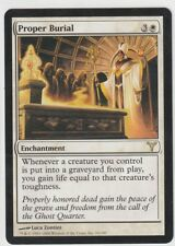 MtG Magic the Gathering 1x PROPER BURIAL - White Rare Dissension NM-Mint