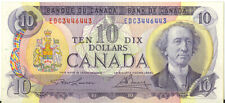 Bank of Canada 1971 $10 Ten Dollars 3 Digit Radar Note EDC 3446443 VF++