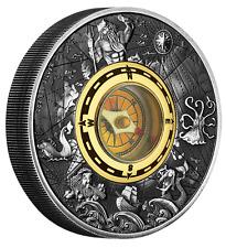 2 $ Dollar Compass mit echtem Kompass Tuvalu 2 oz Silber 2017