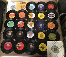 Lot Of 25 Rock Pop Soul Disco Alabama Bobby Rydell Rosie Streisand 45 7� Vg+ 1K
