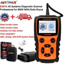 Full System For BMW OBD2 Code Reader ABS SRS SAS BMS EPB Diagnostic Scan Tool