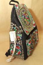 Genuine embroidered vintage tribal BOHO Backpack Handbag Day bag handmade