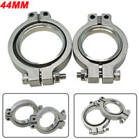 Universal Stainless Quality V band Flang/Clamp Set For MVR 44mm WASTEGATE V-band