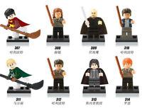 Harry Potter Hermione Malfoy Ron Snape 8 Mini figures Building Bricks Toy Blocks