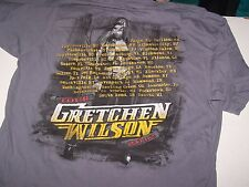 Gretchen Wilson 2012 concert tour shirt size Large