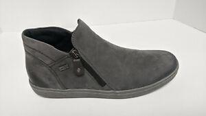 Rieker D4470 Cecilia Ankle Boots, Grey, Women's 10 M (EU 42)