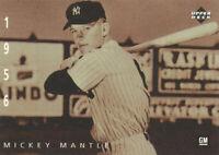 Mickey Mantle 1994 Upper Deck General Motors Ken Burns #5 New York Yankees HOF