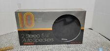 New listing Vintage New Old Stock Audiovox 5 1/4 Stereo Speakers Sc-B10