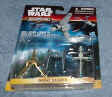 STAR WARS 2015 MICRO MACHINES GOLD SERIES EMPIRE DEFEAT SET