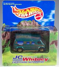Hot Wheels Promo JC Whitney Green Van MIB 1997