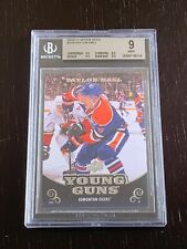 2010-11 UD Taylor Hall Young Guns Rookie Card #219 Graded 9