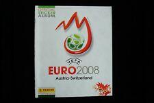 Panini Euro 2008: Complete Set Leeralbum + Bildersatz