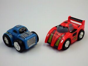 Bundle 2 Petites Cars To Friction Wind Up 2in Toy Toys