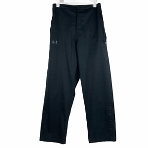 Under Armour Dark Gray Storm Mens Infrared Snow Pants Loose Fit Ankle Zip Large