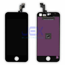 Black iPhone 5S or SE Full Front Digitizer Touch Screen and LCD Display Assembly