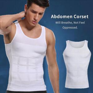 Men's Compression Vest Tank for Man Boobs Moobs Gynecomastia Shirt Chest Shaper