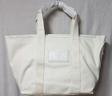 Tory Burch Bag 11169674 New Ivory Small Beach Canvas Tote Agsbeagle