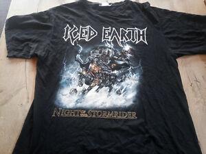 Iced Earth Night of the Stormrider Shirt Vintage RAR 1991 Amon Amarth Slayer