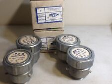 "OZ/Gedney PG-240-20 Jacketed Armored Cable Terminator range 2.10-2.40"" lot of 4"