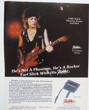 retro magazine advert 1986 KAHLER / earl slick