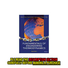 FAST SHIP: Fundamentals Of Engineering Thermodynamics 8E by Michael J.