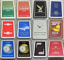 Advertising Playing Cards Vintage Collectable Cards (a)