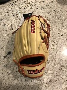 "New 2021 Wilson A2000 1787 11.75"" Infield Baseball Glove New With Tags"