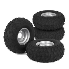 4x Go kart ATV Tire Tyre Wheel 145/70-6 Rim Go kart Electric Mobility Mower AU