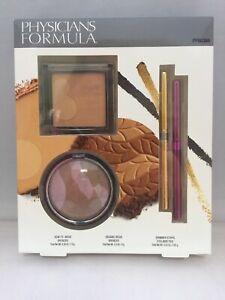 Physicians Formula How To Wear Bronzer & Shimmer Strips Eyeliner Gift Set Sealed