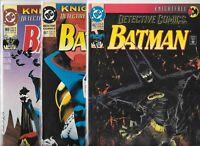 Detective Comics #662, #667 & #668   Lot of 3 (1993, DC Comics)