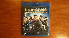 3117 Blu-ray The Great Wall Regio 2