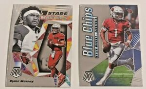 2020 Panini Mosaic Kyler Murray Blue Chips + Stare Masters INSERTS! 2 CARD LOT!