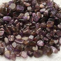 1/2lb Tumbled AMETRINE Natural Amethyst Rutilated Quartz Bulk Crystal 9-12mm