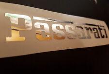 Chrom Aufkleber Passarati Passat VW 3b 32B Auto Tiefer Style Sticker Tuning JDM