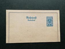 Austrian postal stationery lettercard ,Tubepost(Rohrpost)