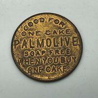 Vintage Palmolive Peet P1009 Free Soap Cake Token Advertising  S1