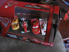 DISNEY CARS 2 RACING 4-PACK SHU MIGUEL MCQUEN FRANCESCO