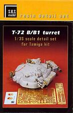 SBS Models 1/35 Russian T-72B T-72B1 TANK TURRET Resin Conversion Kit