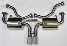 Porsche Boxster & Cayman 987 Base & S Full Stainless Catback Exhaust System
