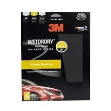 3M We tor Dry Sheet 600 Grit 9 x 11 inch 32036 5 Sheets Per Pack