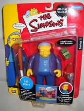 #3551 NRFC Playmates Toys the Simpsons All Star Voices Joe Mantegna as Fat Tony