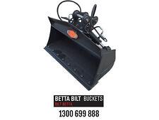 EXCAVATOR TILT BUCKET 3 TONNE 1200MM