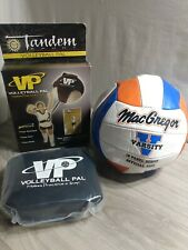 Tandem Volleyball Training Pal Serving Spiking Practice Aid with New Ball
